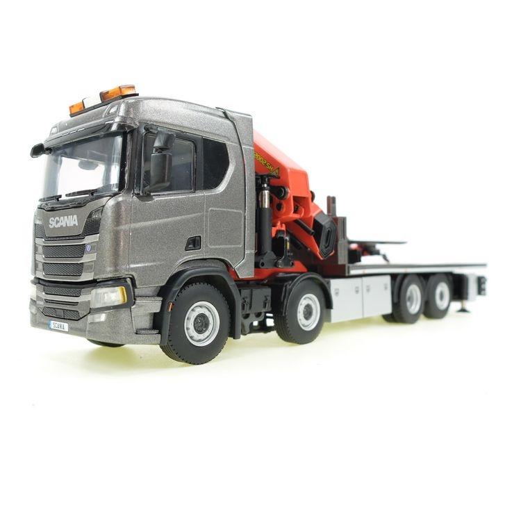 Scania R 500 8x2-6 Plattform Kran