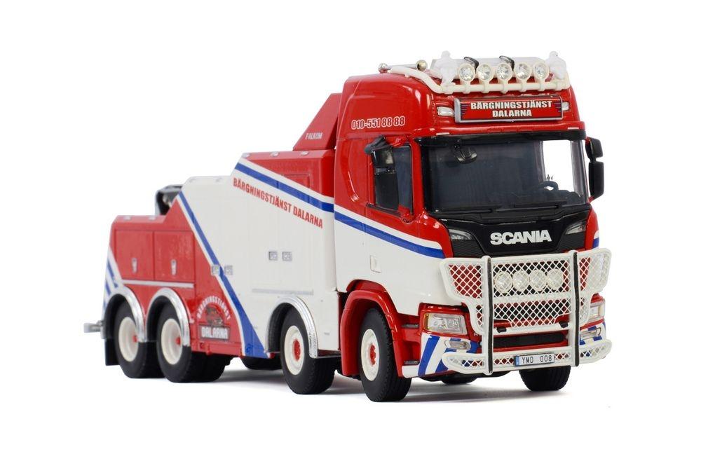 Scania R Highline CR20H 8X4 Falkom  Dalarna