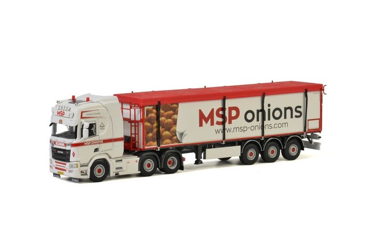 Scania R Highline CR20H Belt Trailer Kolibri MSP Onions