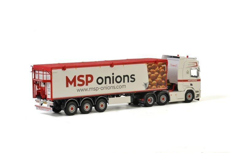 Scania R Highline CR20H Belt Trailer Kolibri MSP Onions