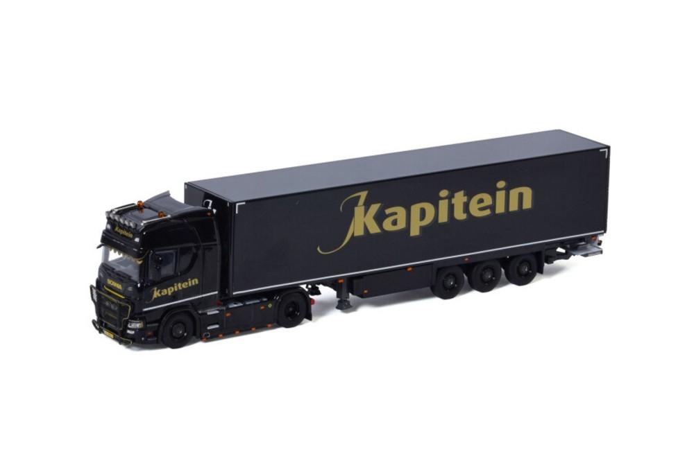 Scania R Highline CR20H Box Trailer  J. Kapitein Transport