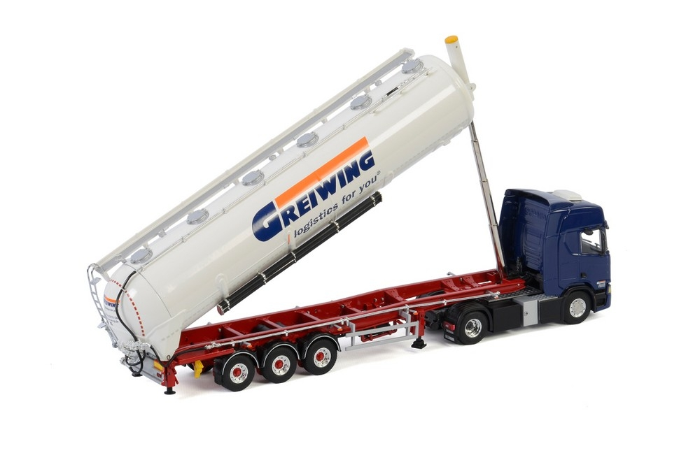 Scania R Highline CR20H Bulk Tipper  Greiwing
