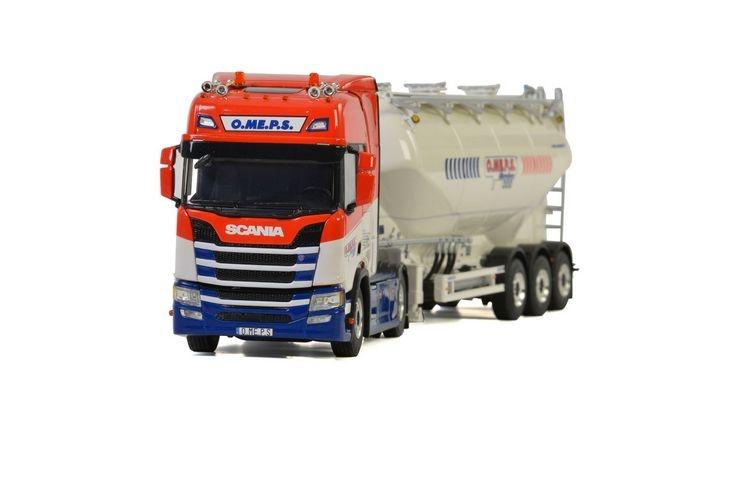 Scania R Highline CR20H Bulk Trailer Cement  O.ME.P.S Srl