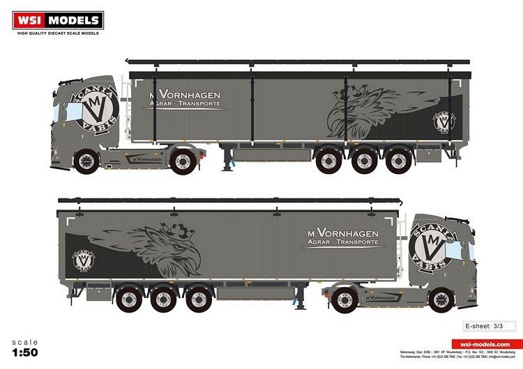 Scania R Highline CR20H Cargo Floor M. Vornhagen