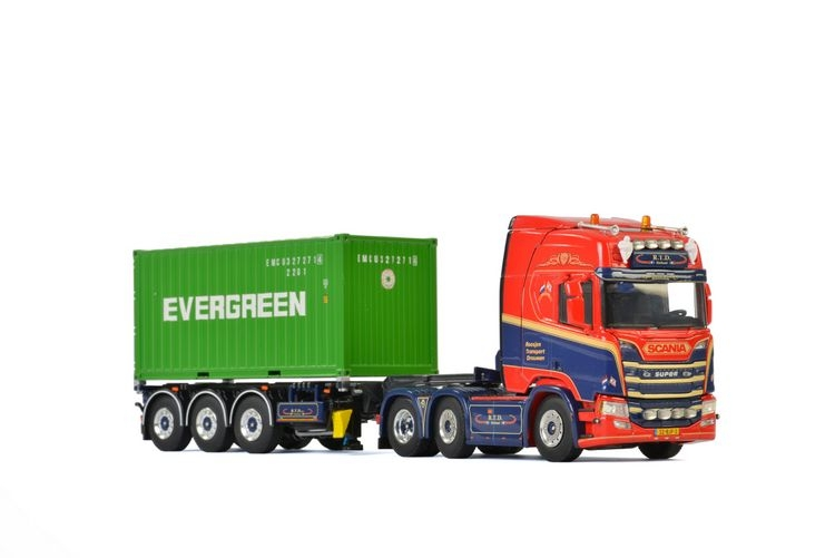 Scania R Highline CR20H Containerauflieger Roosjen