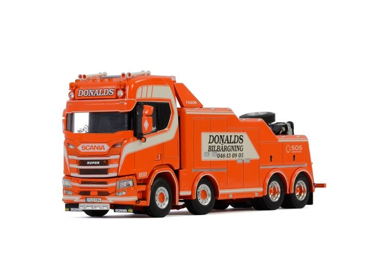 Scania R Highline CR20H  Falkom Donalds Bilbärgning