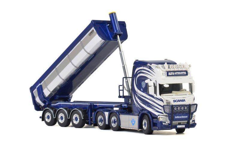 Scania R Highline CR20H Halfpipe Tipper  Alta Lastebilsentral
