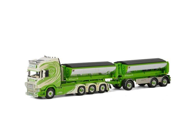 Scania R Highline CR20H Hooklift Combi  Asphalt JA Transport