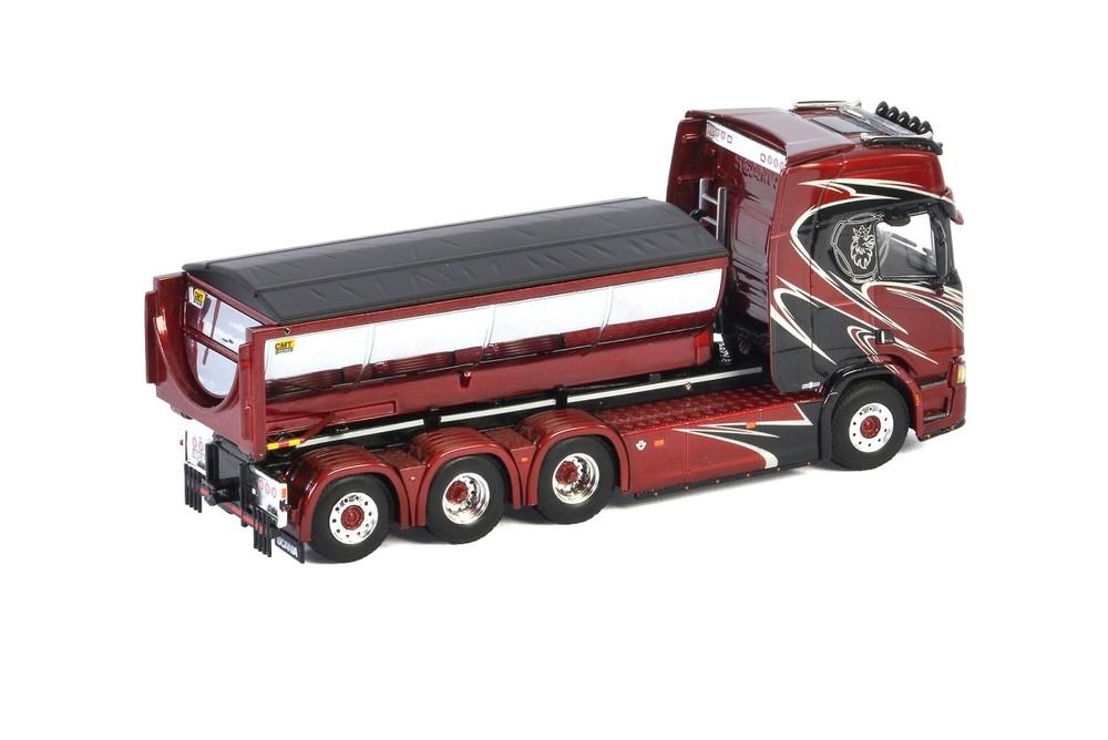 Scania R Highline CR20H  Hooklift Container Asphalt Wermelin
