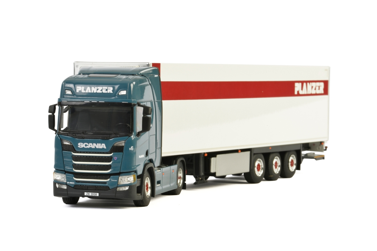 Scania R Highline CR20H Kuehlauflieger  Planzer Transport AG