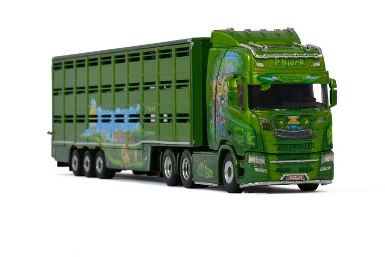 Scania R Highline CR20H Live Stock  P. Bjoerk
