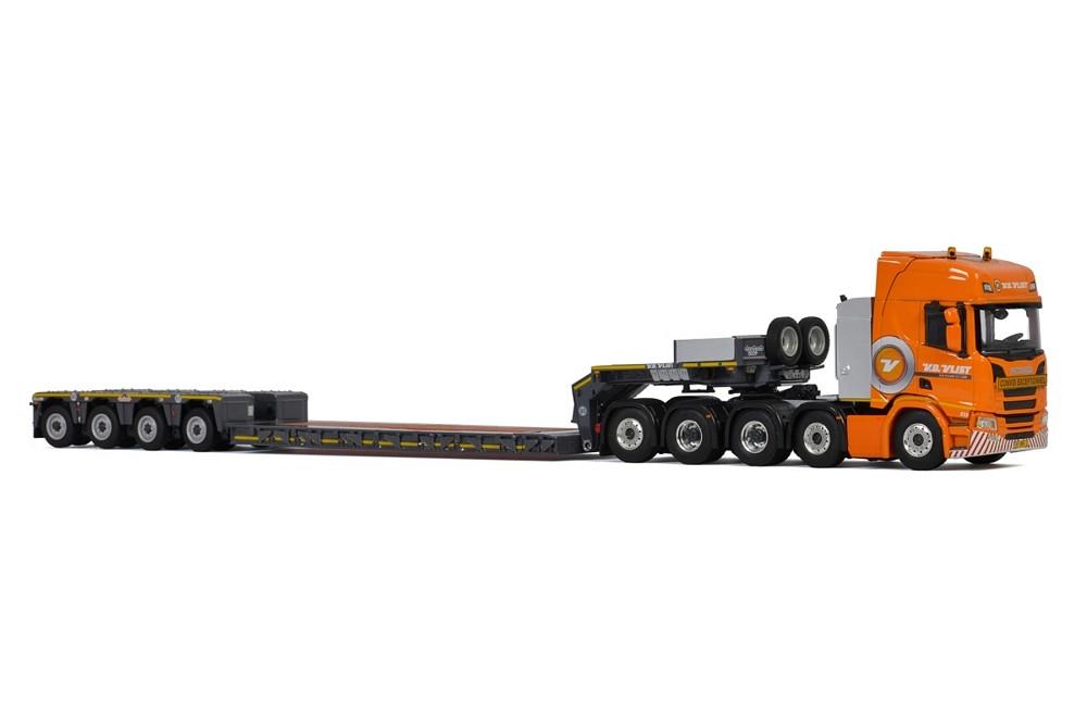Scania R Highline CR20H  Low Loader  Van der Vlist