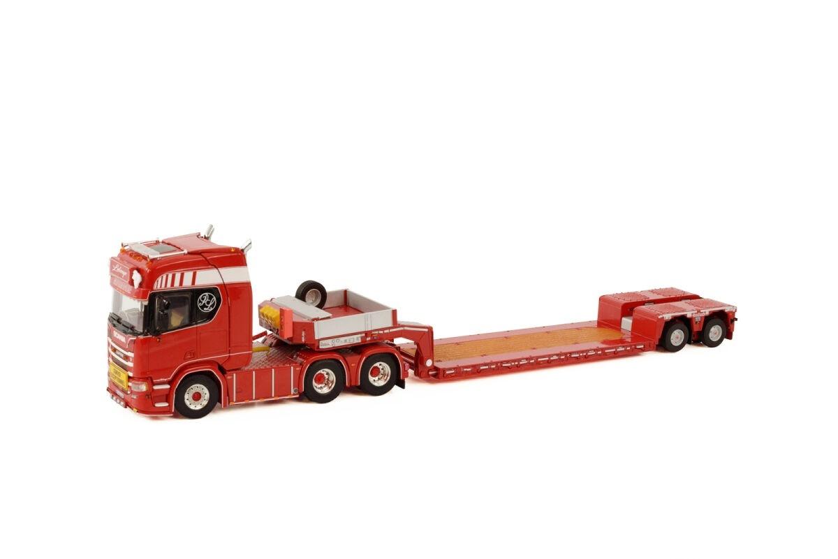 Scania R Highline CR20H Lowloader  Transports Leloup