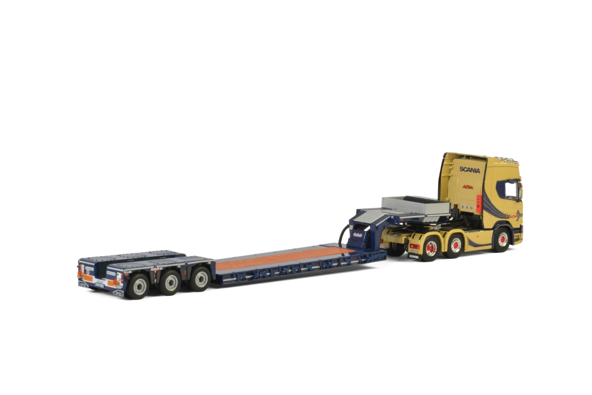 Scania R Highline CR20H Nooteboom Lowloader Autaa