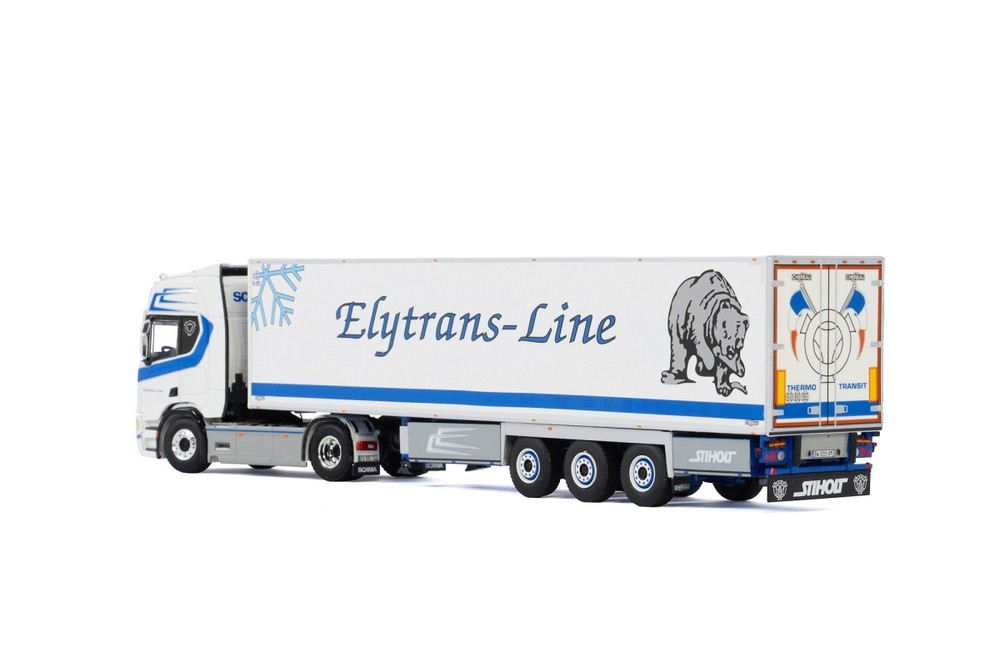 Scania R Highline CR20H Reefer  Elytrans Line