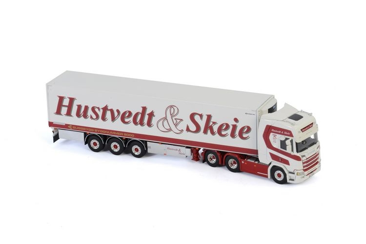 Scania R Highline CR20H Reefer  Hustvedt & Skeie