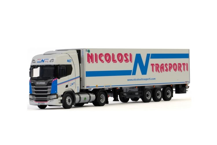 Scania R Highline CR20H  Reefer  Nicolosi Trasporti