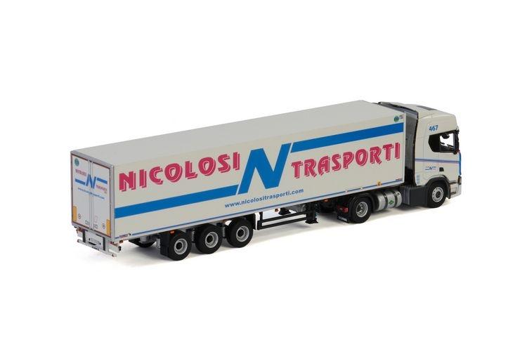 Scania R Highline CR20H  Reefer  Nicolosi Trasporti