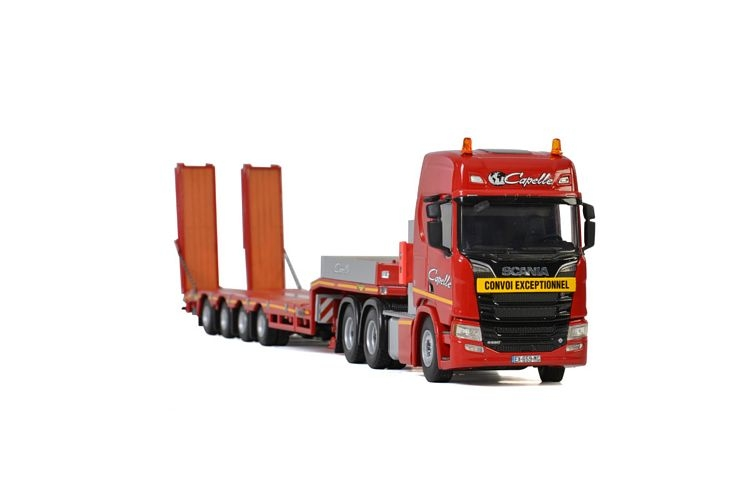 Scania R Highline CR20H Semi Lowloader Transports Capelle