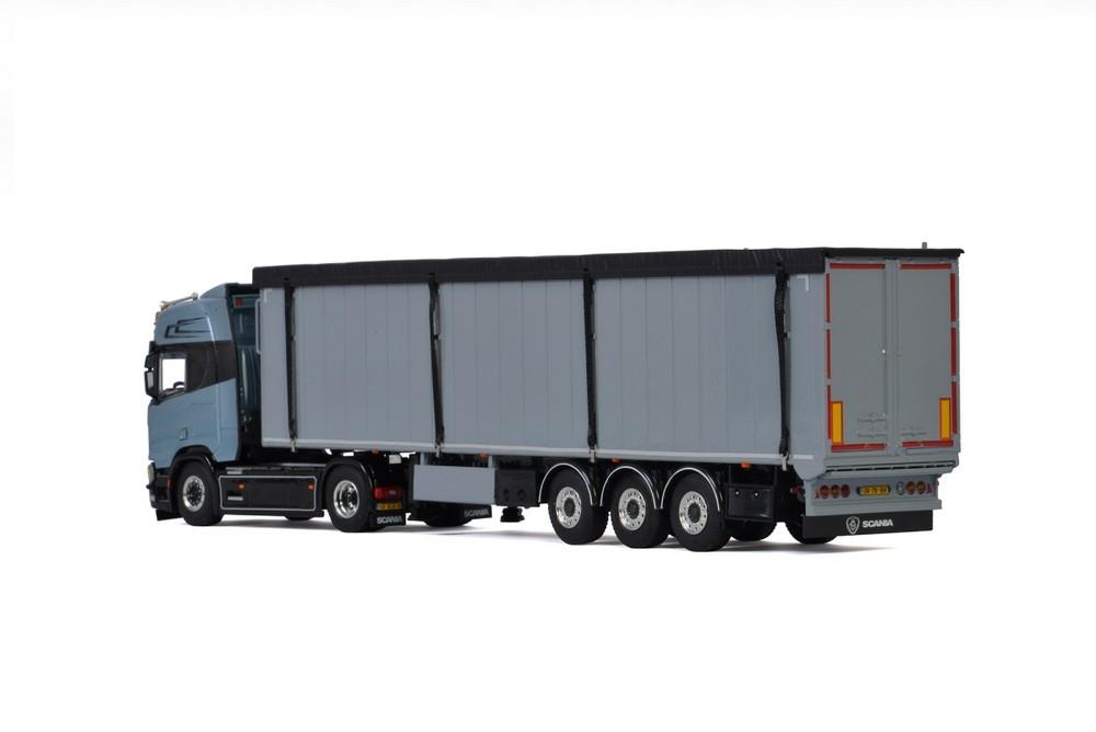 Scania R Highline CR20H  Volume Trailer   Janse
