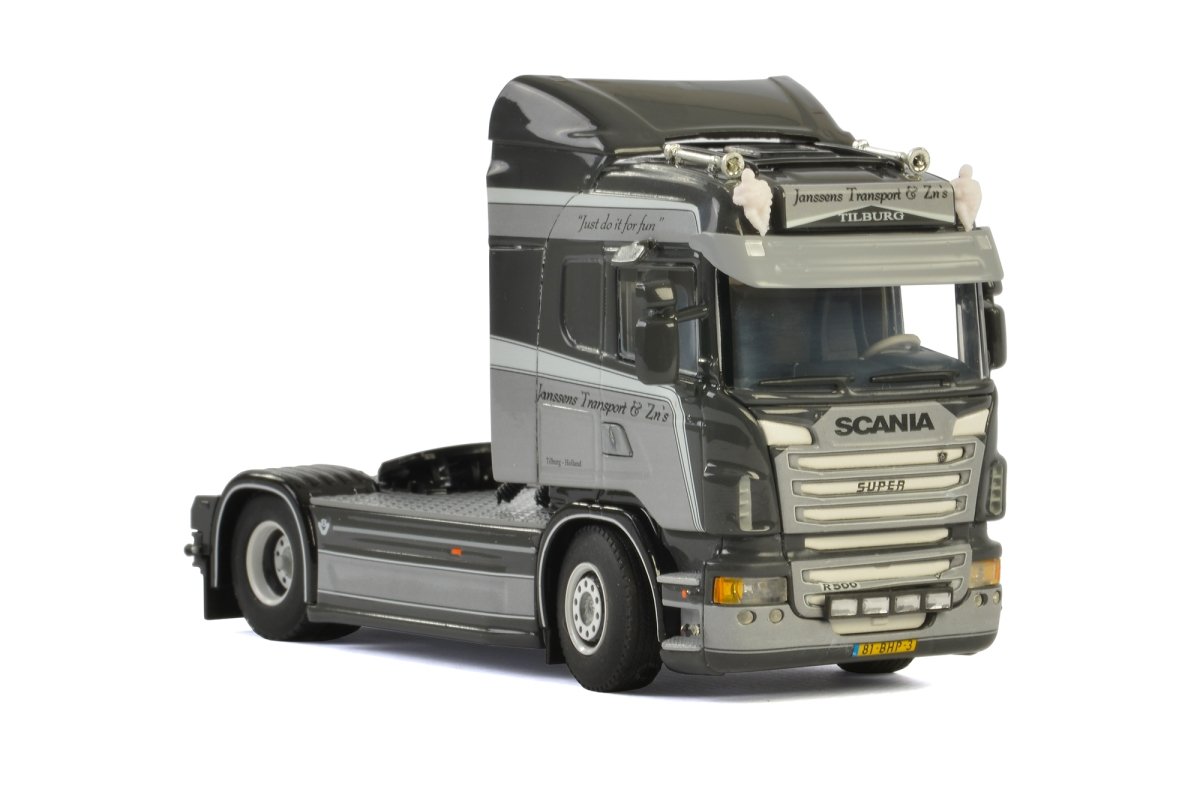 Scania R Highline Janssens Transport