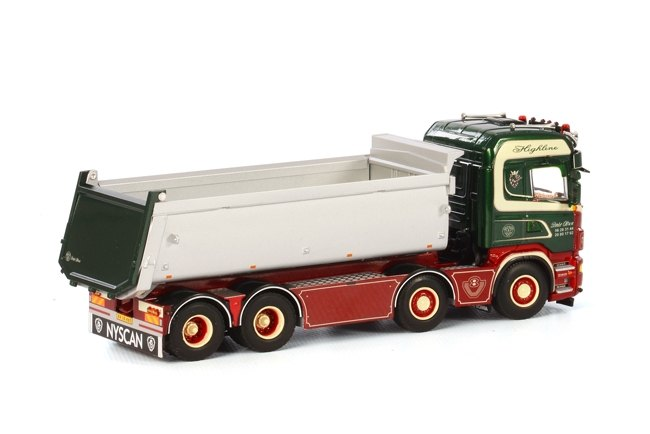Scania R Highline Kipper  BrdR Olsen