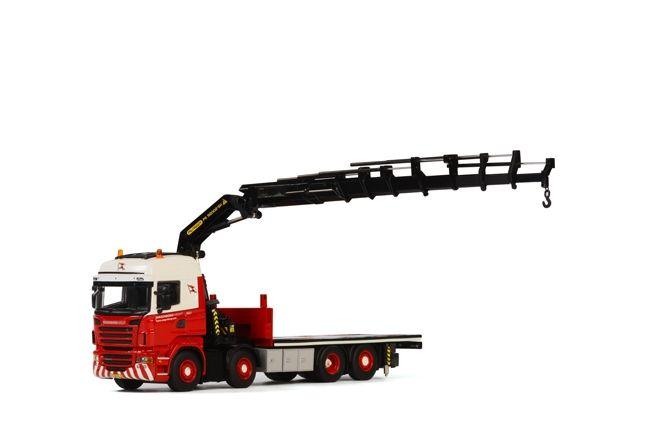 Scania R Highline Palfinger 92002 SH  Jib Wagenborg