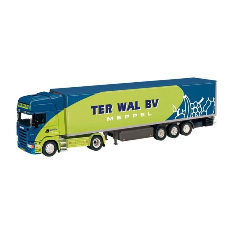 Scania R Kühlkoffersattelzug  Ter Wal