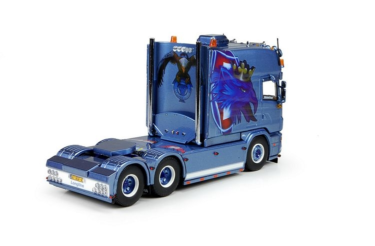 Scania R Longline 6x2 Huber Transport