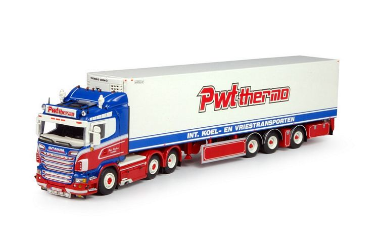 Scania R  Lowline  Kuhlauflieger Wouters Peter