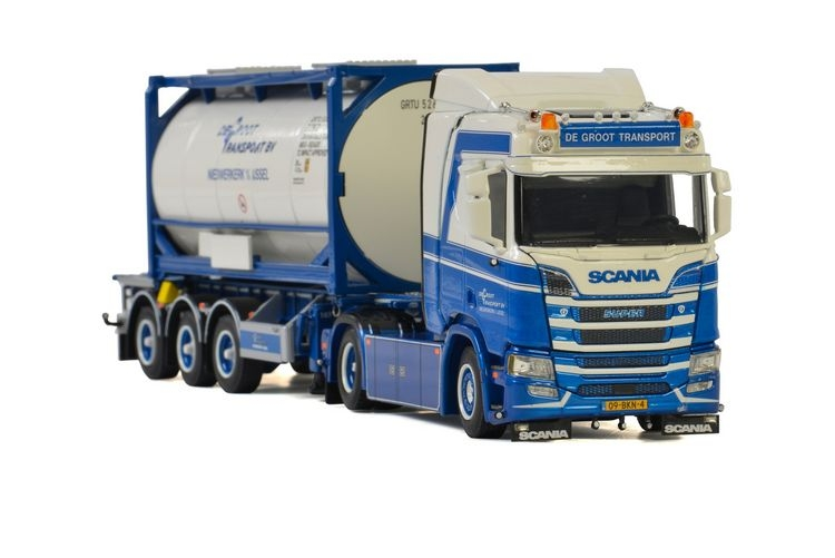 Scania R Normal CR20N 20Ft Tank Container De Groot Transport