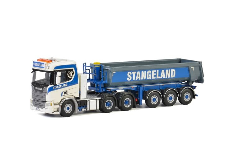 Scania R Normal CR20N Half Pipe Tipper  Stangeland