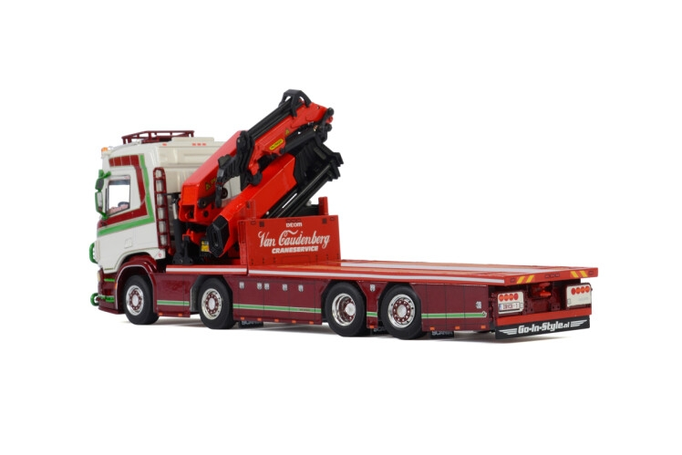 Scania R Normal CR20N Palfinger PK 92002 Transport Van Caudenber