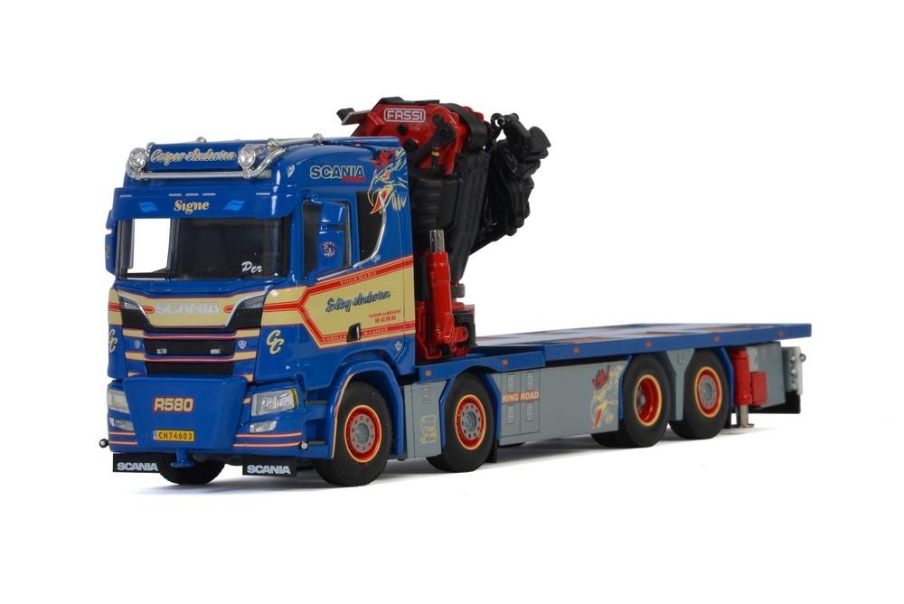 Scania R Normal CR20N  Riged Truck FASSI 1100 Jib  Erling Anders