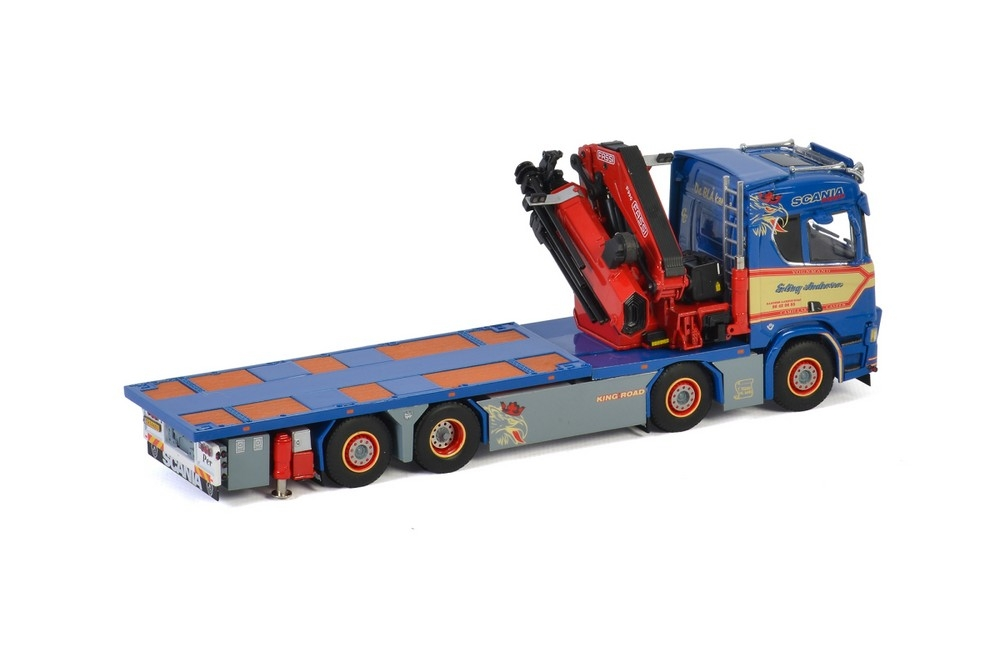 Scania R Normal CR20N  Riged Truck FASSI 1100 Jib  Erling Anders