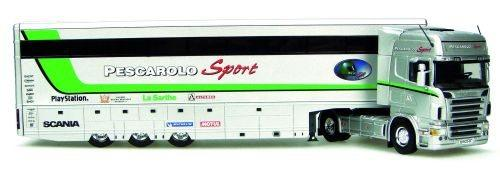 Scania R  ''Pescarolo Sport Team'' trailer