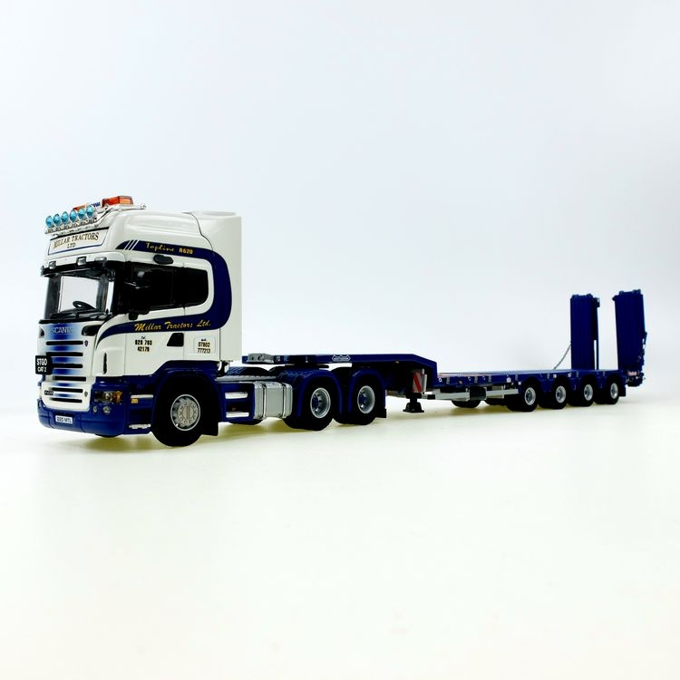 Scania R  SEMI LOW LOADER MILLAR