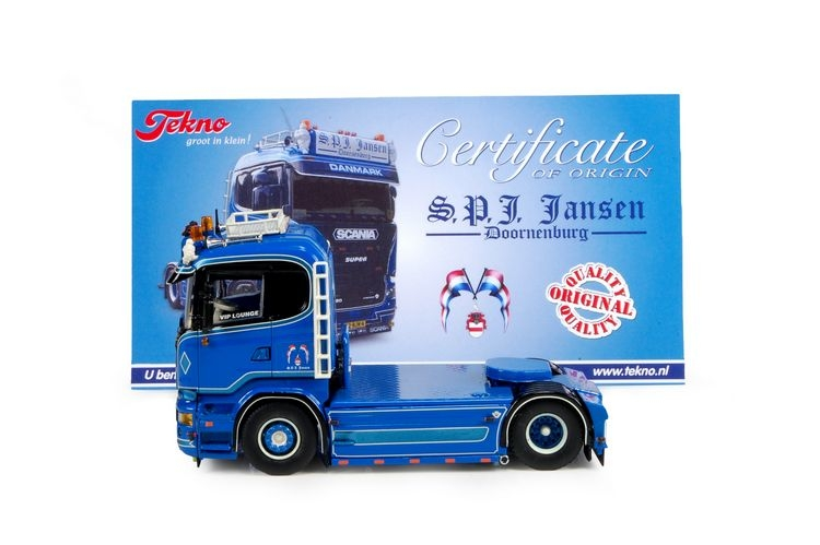 Scania R-serie 4x2 Jansen SPJ