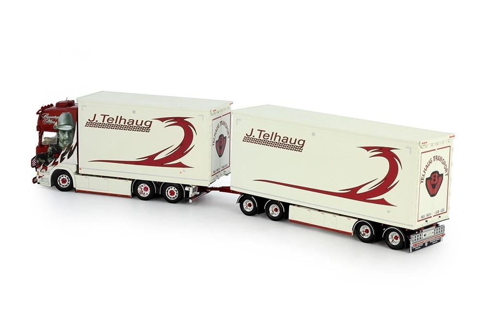 Scania R serie combi truck trailer John Telhaug