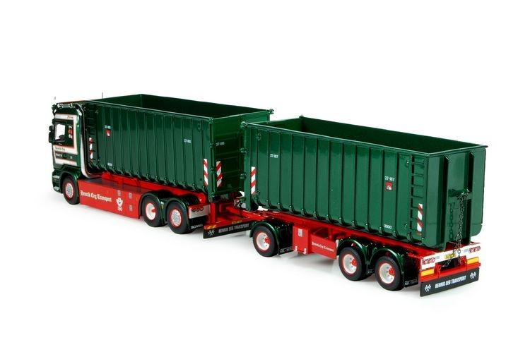 Scania R-serie haakarm Container anhaenger EEG Henrik