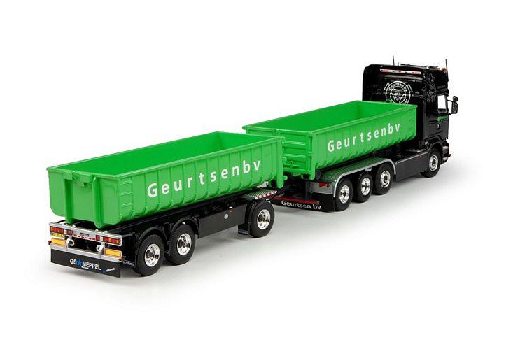 Scania R-serie  Hakenarm Container Geurtsen