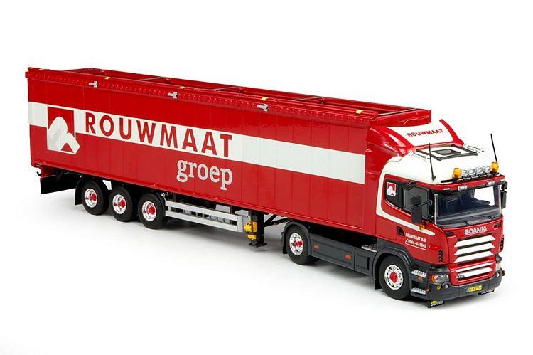 Scania R-serie Highline Cargo floor  Rouwmaat