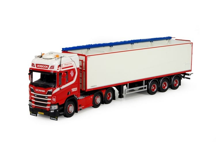 Scania R-Serie Highline Kartoffelauflieger Verboon transport de