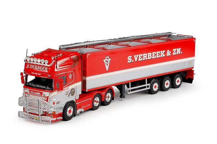 Scania R-serie Kartoffeln-Auflieger Verbeek, S