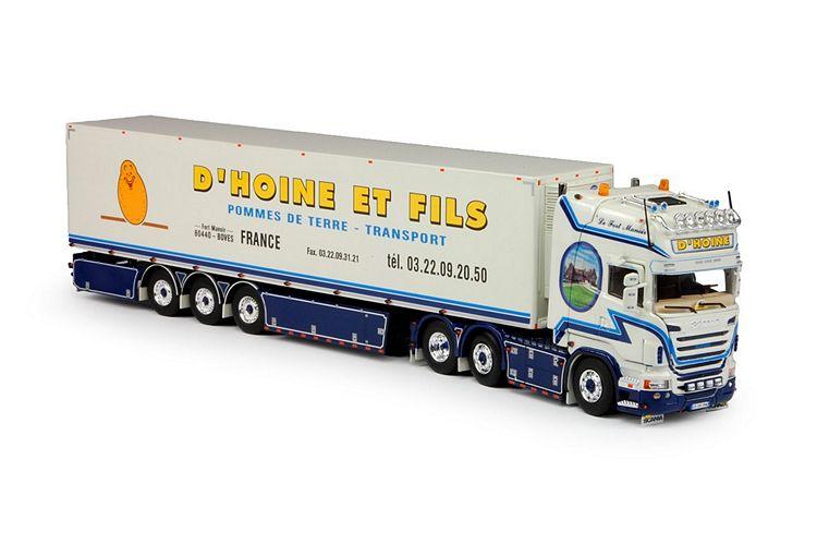 Scania R-serie  Kühlauflieger D Hoine et Fils