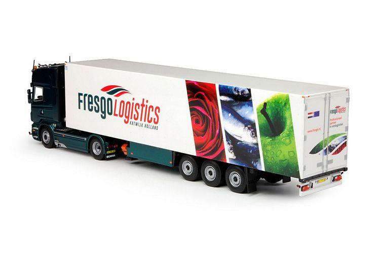 Scania R serie  Kühlauflieger Haasnoot Vis