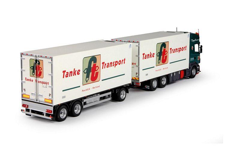 Scania R Serie Kombi Tanke Transport