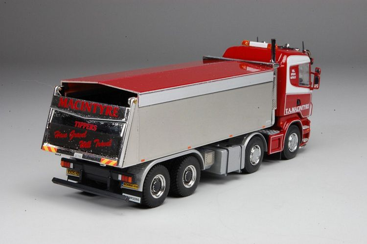 Scania R serie Lowline kipper Macintyre