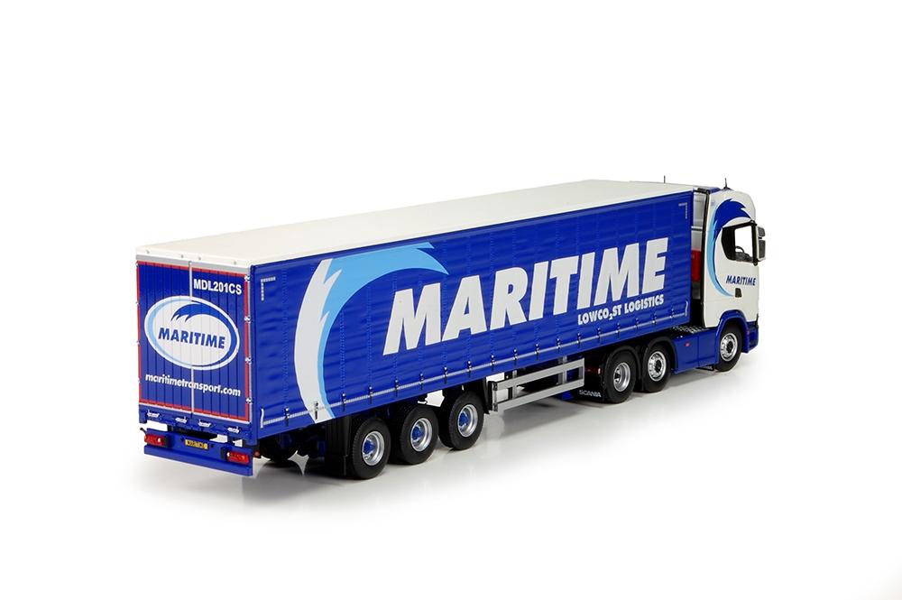 Scania R serie Nex Gen curtainside auflieger Maritime