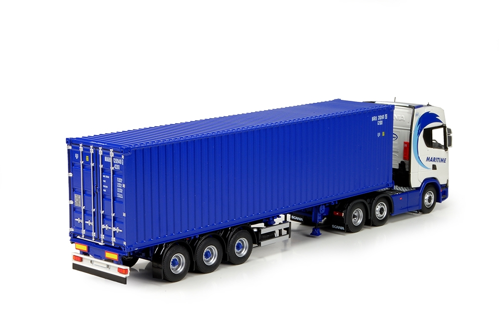 Scania R serie Next Gen container  Maritime